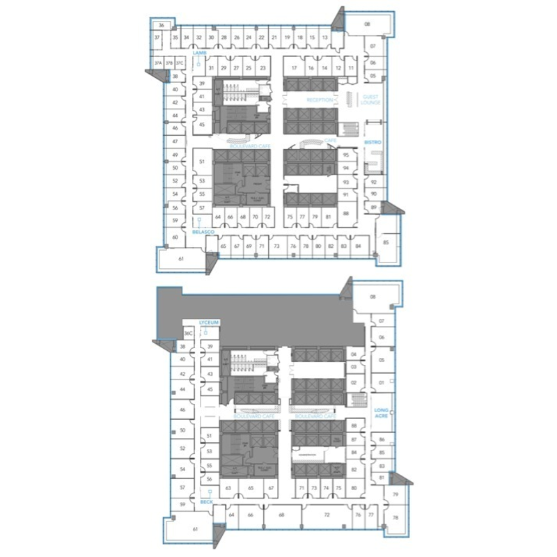 Floor plan for 1501 broadway 12th floor new york ny 10036