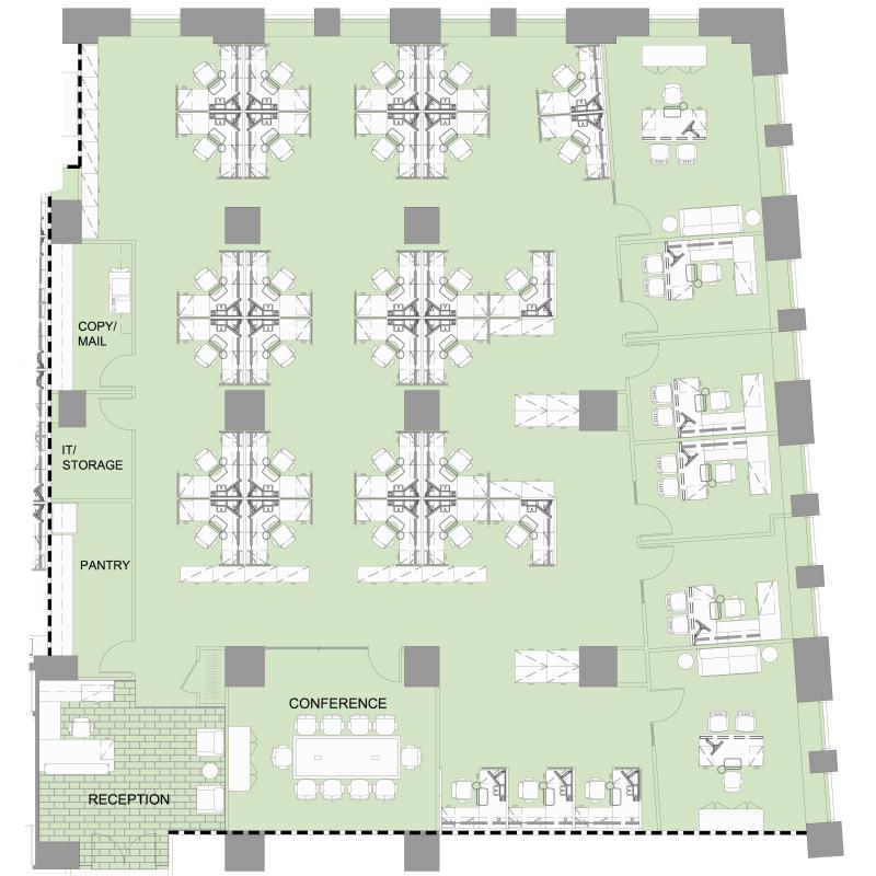 Floor plan for 14 wall street 20th floor new york new york 10005