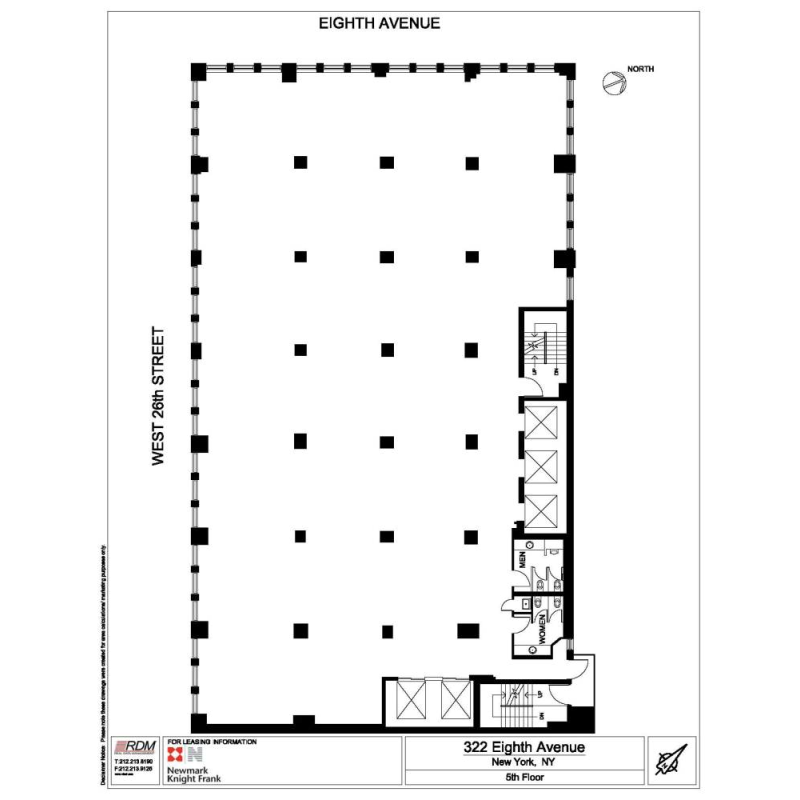 Floor plan for 200 5th ave 8th floor new york ny 10010